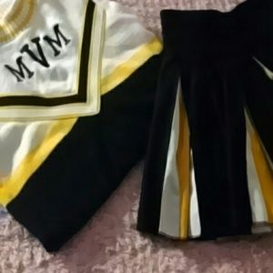 Vintage Hatchers Cheerleading Uniform Small 6